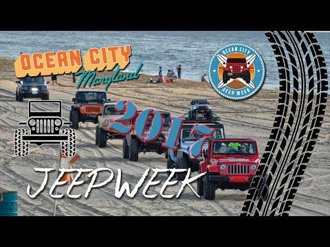 Ocean City Jeep Week 2017
