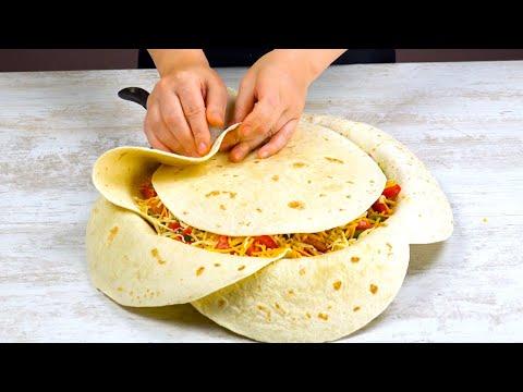 mettez-7-tortillas-comme-Ça-dans-la-poêle-et-attendez-40-minutes.-ouah-!