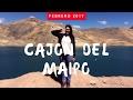 CONOCIENDO EL CAJÓN DEL MAIPO   CHILE 2017