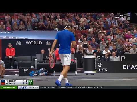 Roger Federer Top 9 tremendous Drop Shots