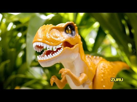 NEW from ZURU Robo Alive! | Robotic Attacking T-Rex | Toy Moves Like a Real Dinosaur!
