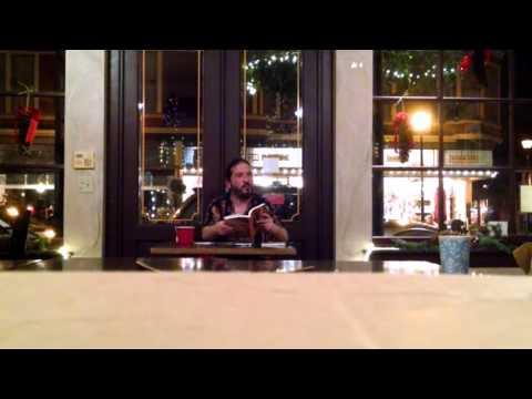 BRYAN RADZIN OLD TOWN COFFEE AND CHOCOLATES READING 12/2015