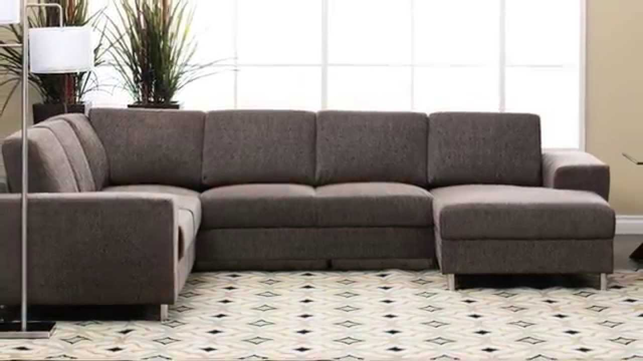 Jerome S Furniture Elena Sectional Youtube