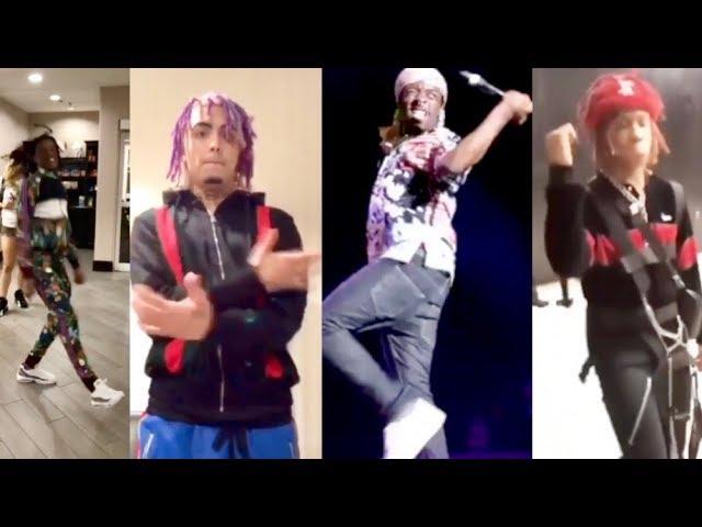 Mumble Rappers Doing Bloc Boy Dance Compilation Lil Uzi Boonk Lil Pump Lonzo Ball Trippie Redd