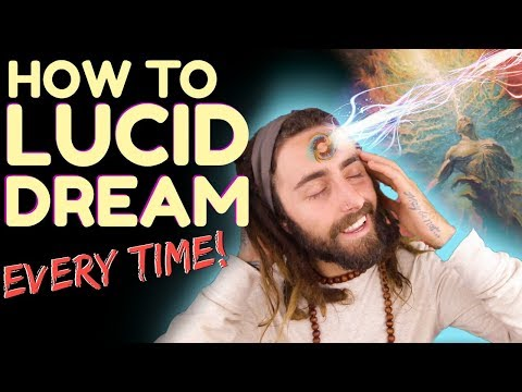 How to Lucid Dream! (Every Single Time) | The 100% Method