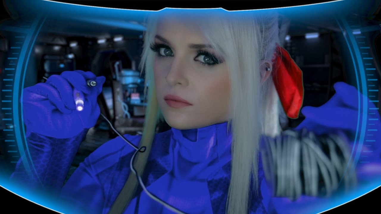 ASMR Metroid   Samus Fixes YOU Role Play (You're a Power Suit)