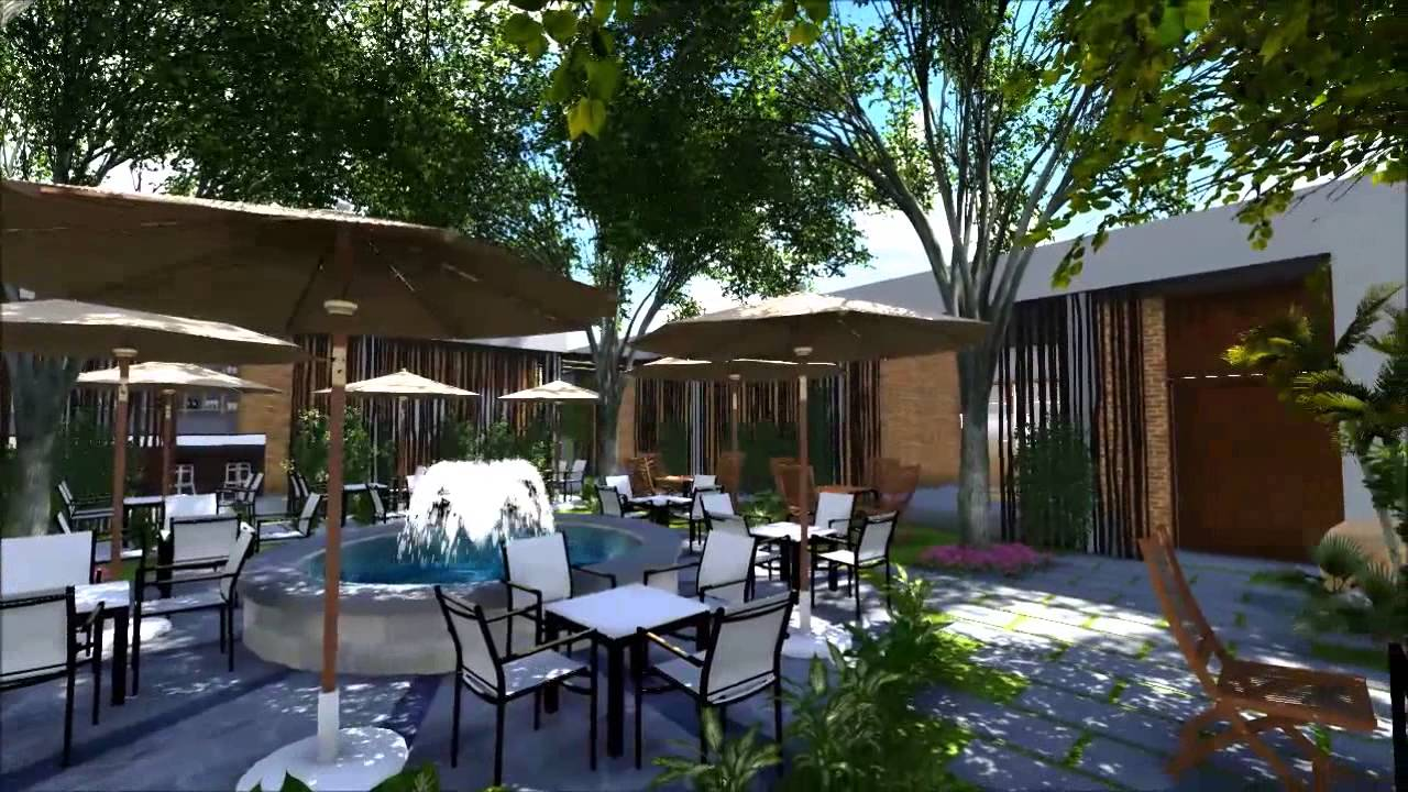Garden cafe design by sonarct youtube