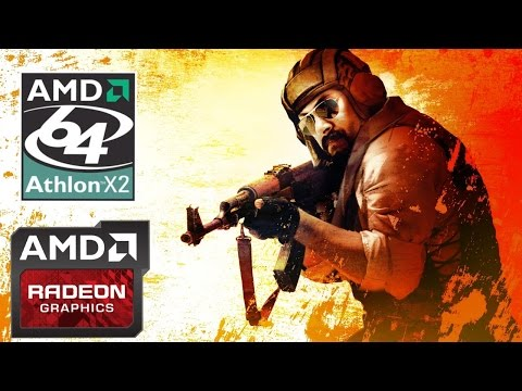 [CS:GO] Athlon 64 x2 6000+ / HD 7850 1GB [Real FPS]