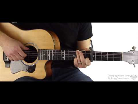 Letters from Home Guitar Lesson and Tutorial - John Michael Montgomery