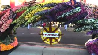 2016 Rose Bowl Parade American Honda float