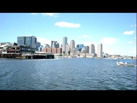 Boston Harbor Skyline