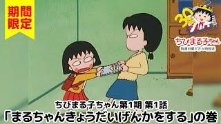 ちびまる子ちゃん アニメ 第1期 1話『まるちゃんきょうだいげんかをする』の巻