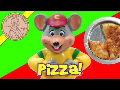 Chuck E Cheese's Pizza Factory Kids Oven! Make Mini Chef Boyardee Pizza!
