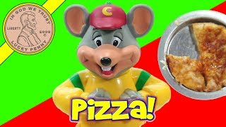 Chuck E Cheese's Pizza Factory Kids Oven! Make Mini Chef Boyardee Pizza!