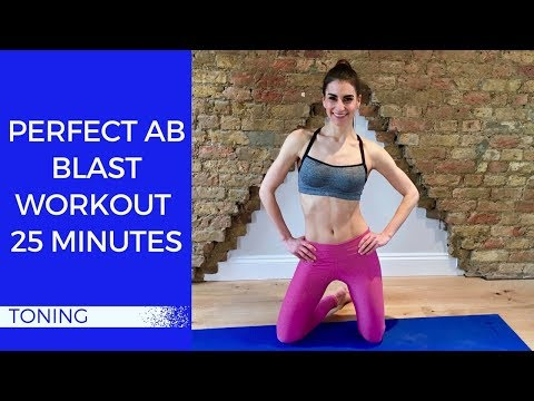 Perfect Ab Blast Workout | 25 Minutes