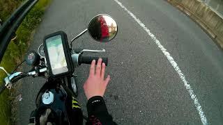 🎀遂にスマホホルダーデビューしたよ♪♪奈良の浮見堂へレッツゴー🎀🏍 原付MotoVlog【原付女子ライダーことアムルナ】
