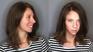 Женская стрижка на длинные волосы со слоями. Урок для парикмахера. Академия правильной стрижки.