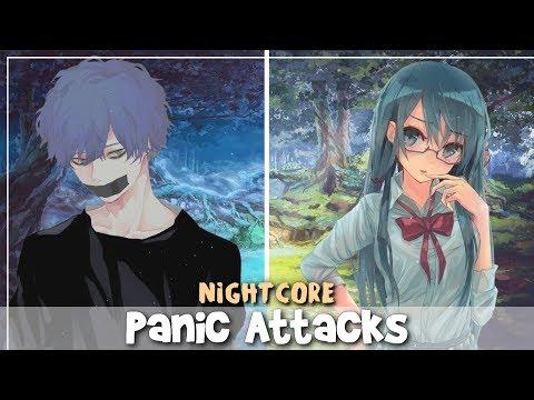 Nightcore - Panic Attacks (Elohim) (Lyrics) (Switching Vocals)