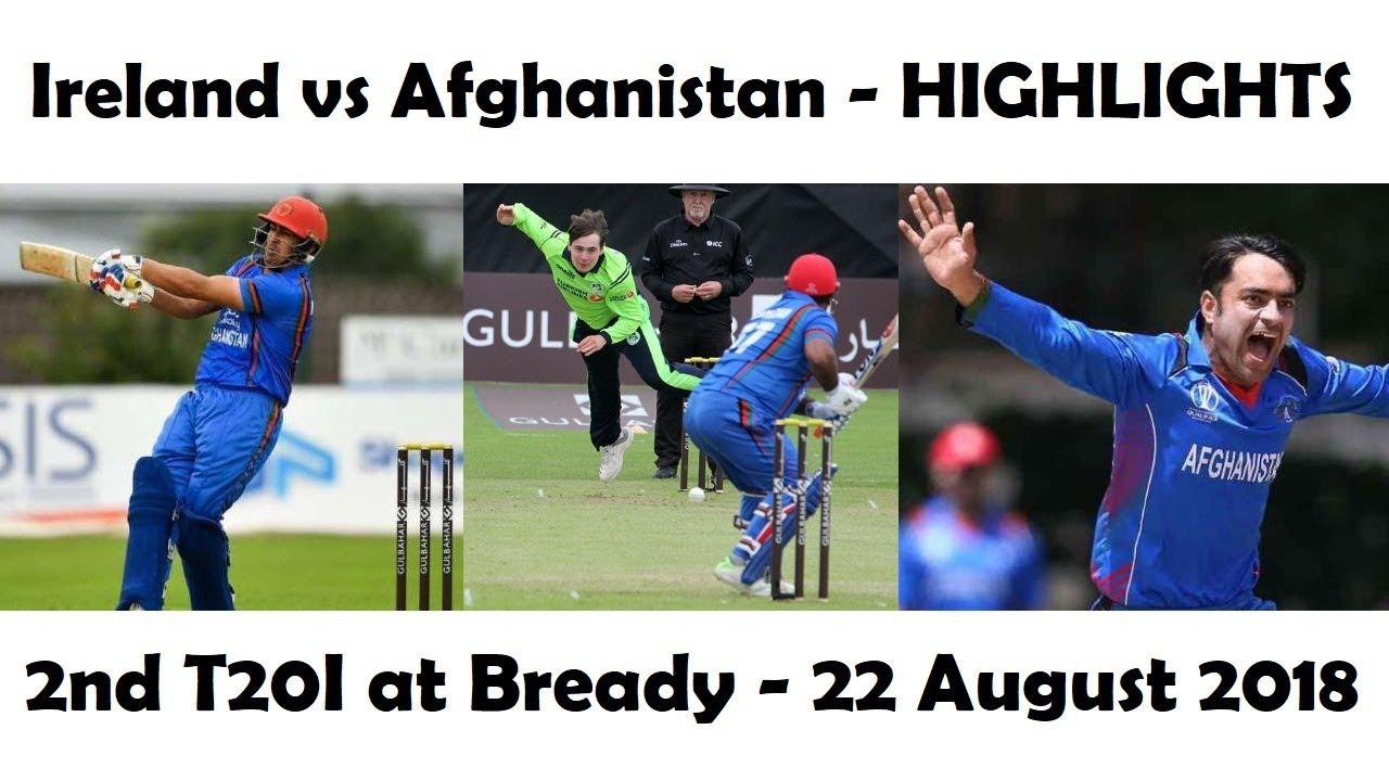 Ireland Vs Afghanistan: Ireland Vs Afghanistan (HIGHLIGHTS) 2nd T20I At Bready