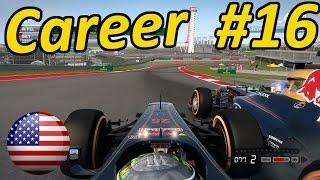 F1 2014 Modded Career Mode Part 16: US Grand Prix Texas (Cota)