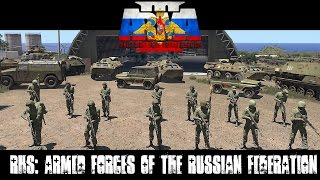 RHS: Escalation - Armed Forces of the Russian Federation - ArmA 3 Mod