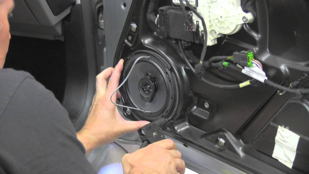 Door Speaker Installation Volkswagen Beetle Youtube