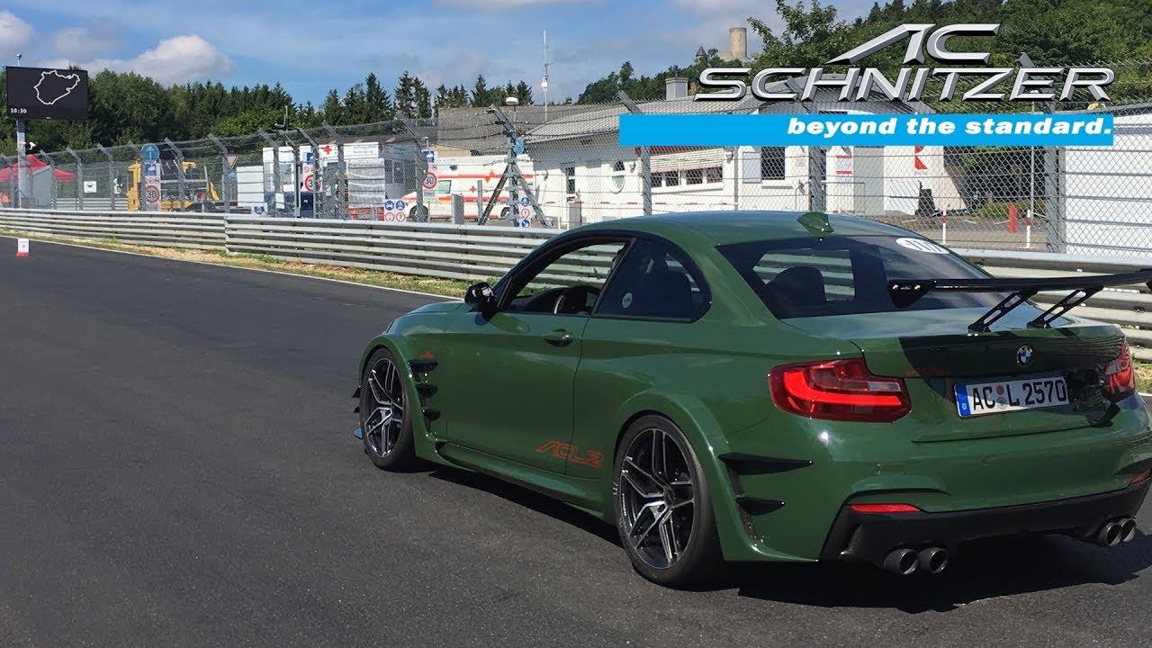AC Schnitzer ACL2 schnellster straßenzugelassener BMW auf der Nürburgring Nordschleife