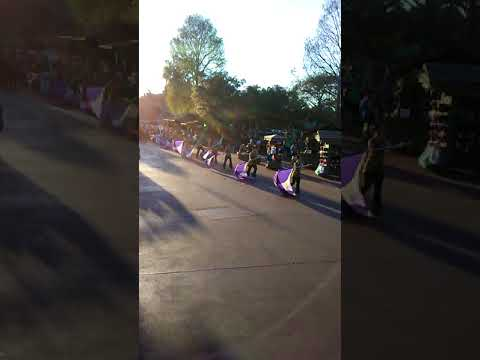 Valley Band marches at Magic Kingdom