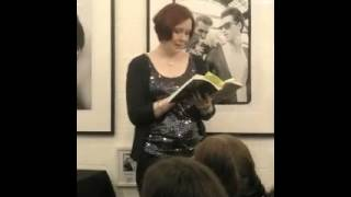Nicky Wells sings and reads from Sophie's Turn
