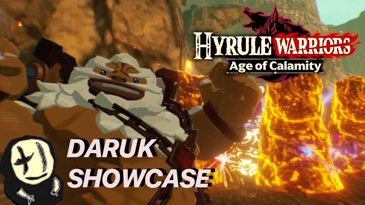 Zelda The Sealing Light Hyrule Warriors Age Of Calamity Showcase Youtube