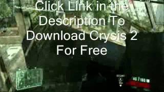 Crysis 2 free download full game  Pc version