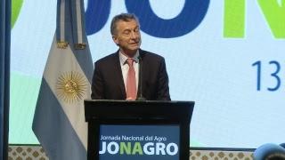 EL PRESIDENTE MAURICIO MACRI PARTICIPA DE LA APERTURA DE LA JORNADA ANUAL DEL AGRO