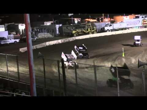 """Dominic Scelzi 7/11/14 """"360"""" """"B"""" Main Event Ocean Speedway Watsonville"""