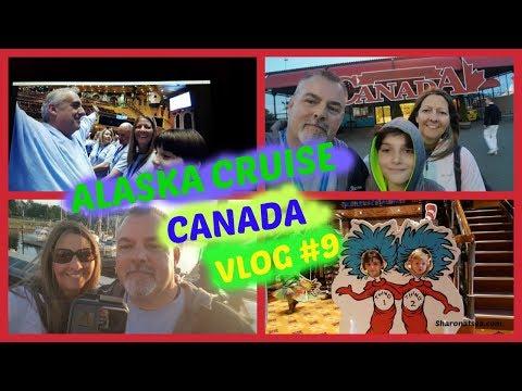 ALASKA CRUISE CANADA & DEBARKATION