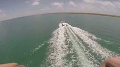 ParaSailing in Corpus Christi at Chute 'em Up with my GoPro Hero 3+