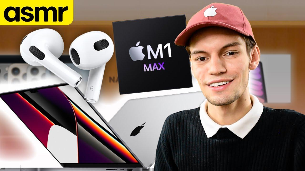 ASMR - Resumen Apple Event (Nueva MacBook Pro) - ASMR Español