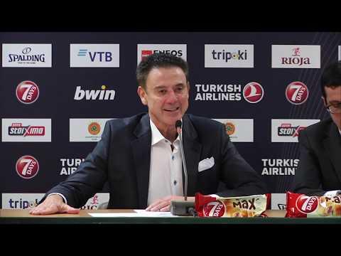 Euroleague Post - Game Press Conference: Panathinaikos OPAP Athens vs FC Bayern Munich