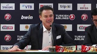 euroleague post game press conference panathinaikos opap athens vs fc bayern munich