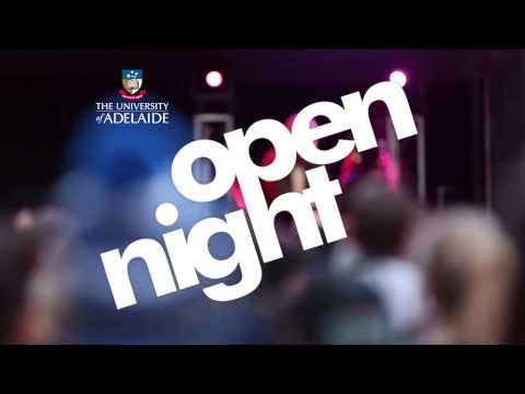 Open Night 2014  The University of Adelaide
