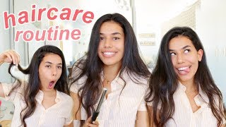 My Haircare Routine 2018 + everyday natural curls | Ava Jules