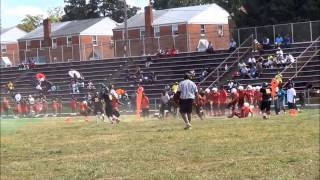 Daymon Williams 8th Grade  Football Highlights 2013
