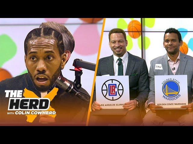 Colin Cowherd plays the Free Agent Dating Game | NBA | THE HERD