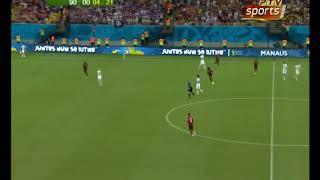 Stati Uniti - Portogallo 2-2 2014 - Gol di Varela all