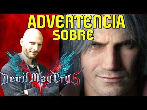¡ADVERTENCIA SOBRE DEVIL MAY CRY 5! - Sasel - Capcom - Ps4 - xbox one - análisis thumbnail