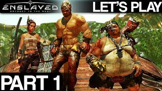 """Let's Play - Enslaved: Odyssey to the West Premium Edition - PART 1 """"Chapter 1: The Escape""""  [PC]"""