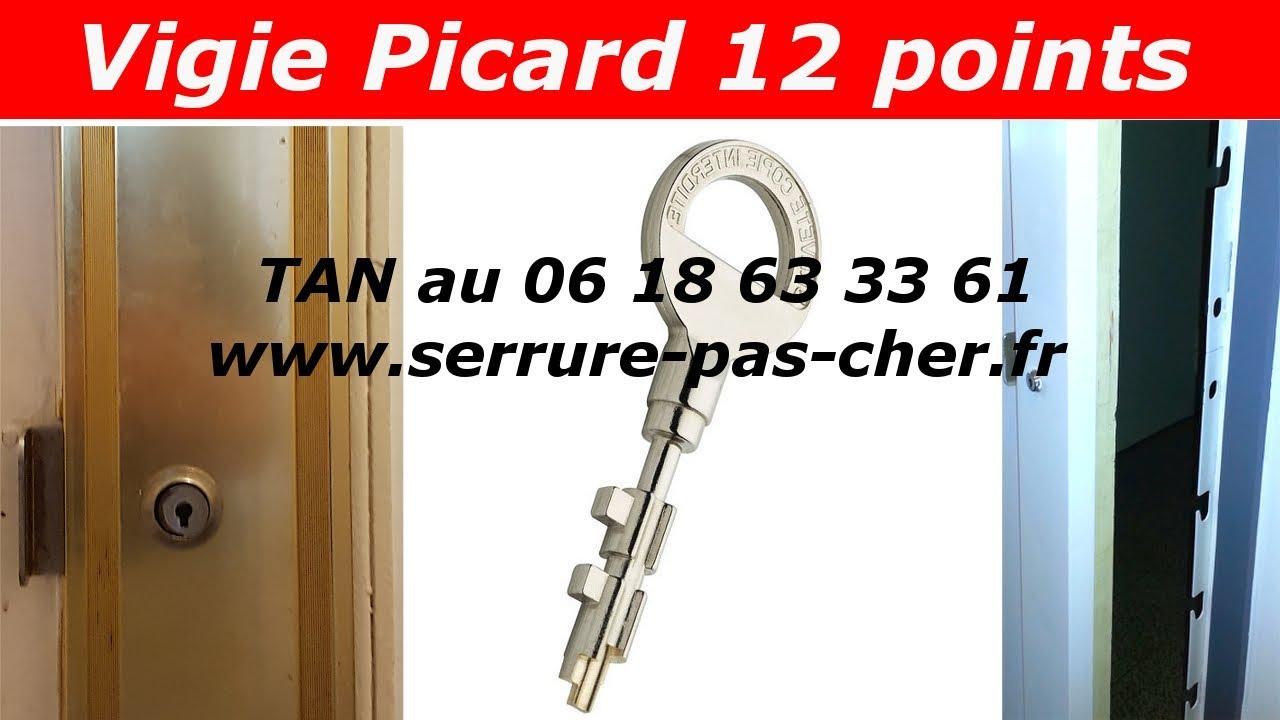 tutoriel comment changer une serrure vigie picard paris 12. Black Bedroom Furniture Sets. Home Design Ideas