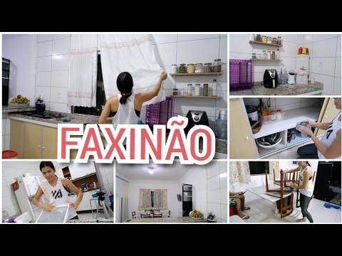 FAXINA COMPLETA NA COZINHA E SALA DE JANTAR, Tati Vlogs thumbnail
