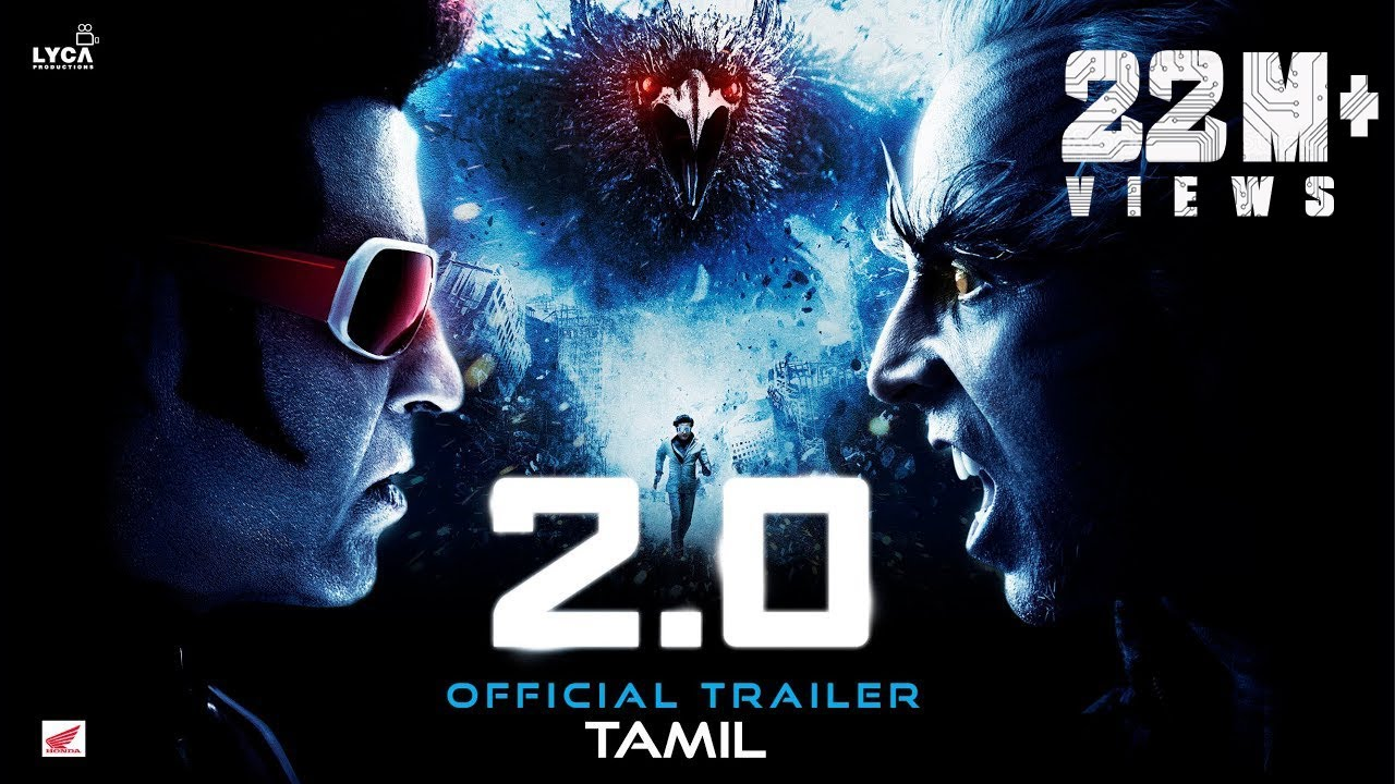 Download 2.0 - Official Trailer [Tamil] | Rajinikanth | Akshay Kumar | A R Rahman | Shankar | Subaskaran