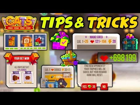 C.A.T.S BEGINNER'S GUIDE FOR NEW PLAYERS  TIPS & TRICKS  Crash Arena Turbo Stars