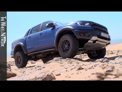 2019 Ford Ranger Raptor Off-Road Driving in Morocco